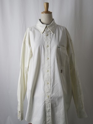 Tommy Hilfiger button down shirt white 【5646】