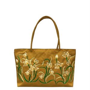 ベトナムバッグ 刺繍バッグ トートバッグ 肩掛け 鞄 両面刺繍 ベトナム雑貨