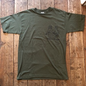 US Made Olive Green 6.1oz S/S Tee