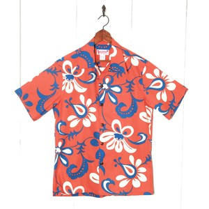 Mountain Mens Open / flower / coral