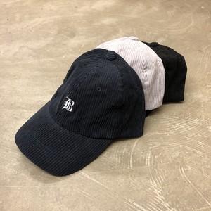 コーデュロイイニシャルLOW CAP