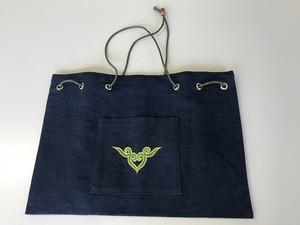 ひもトートバッグ  tote bag 【さっぽろアイヌクラフト】
