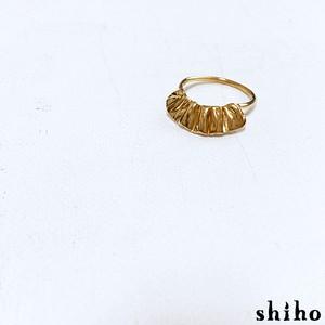 小さなフリルのリング【mini frill ring(gd)】