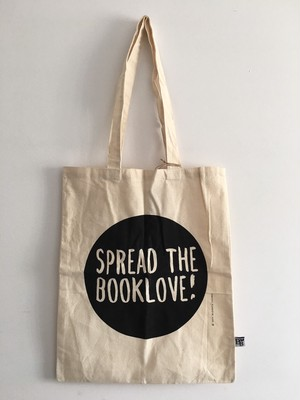Spread the book love コットンエコバック