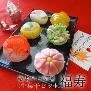 ◎敬老の日特選 上生菓子6個セット【福寿】