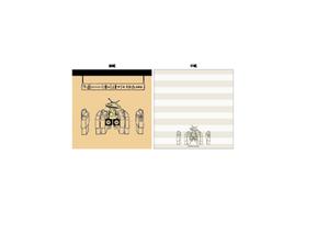 メモパッドスクエア(KAIJYU SERIES&Popondetta)