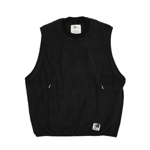 "O- ""SO EXCLUSIVE"" WRITERS VEST(BLACK)"