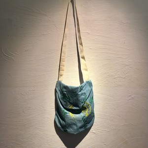Engineered Garments(エンジニアド ガーメンツ)2019SS Shoulder Pouch-Denim Floral Embroidery