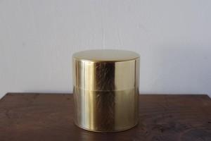丸缶(真鍮)