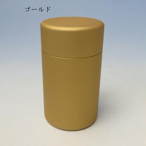 ミニ骨壷With(ウィズ)35 直径35mm×高60mm ゴールド【日本製】