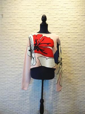 flower knit 35502