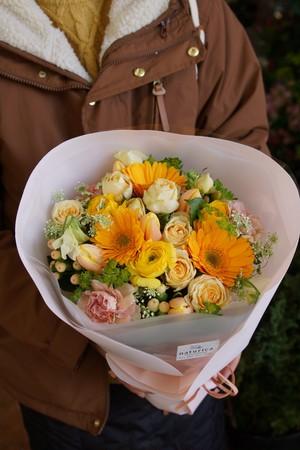 季節の花束【おすすめのお花を使って】