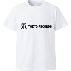 TOKYO RECORDS TEE(WHT×BLK)