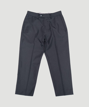 BEST PACK Sta Prest Ankle Pants Black BPSTN-PT01