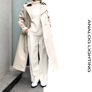 Long Trench Coat/BEIGE