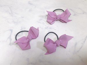 《再入荷》medium hair bow【lilac】