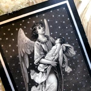 星空の天使のデスカード