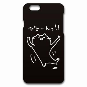 minario / にゃんつー・ぴょーん! iPhone CASE BLACK