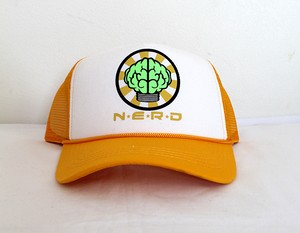 超GENTEI N.E.R.D TRUCKER CAPS / YELLOW