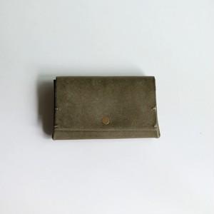 bellowsfold wallet - gri - プエブロ