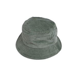 En Plein Air WIDE WALE CORDUROY BUCKET HAT(SAGE GREEN)