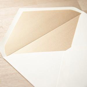 飾り紙 シャンパンゴールド(洋1封筒用)| 10枚