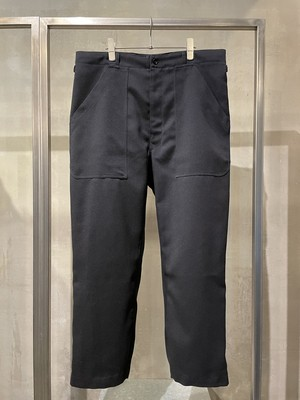 T/f G5 polyester twill baggy pants - deep sea