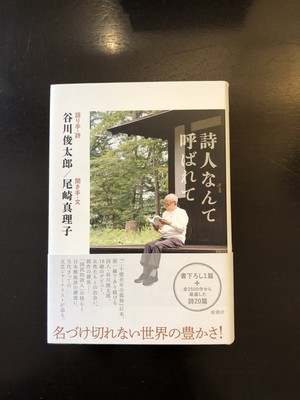 『詩人なんて呼ばれて』(尾崎真理子、谷川俊太郎)