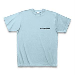 PerSimmon ロゴ T (ライトブルー)
