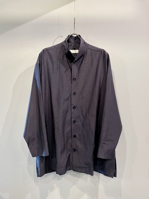 T/f Lv4 cupro cotton lawn loose fit coverall - stone