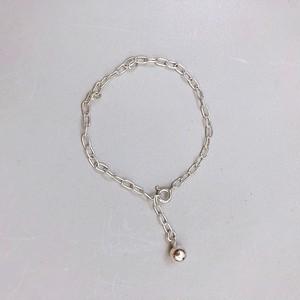 simple chain bracelet (s925)