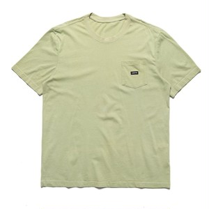 CHRYSTIE NYC Small patch pocket T-shirt Weed Green