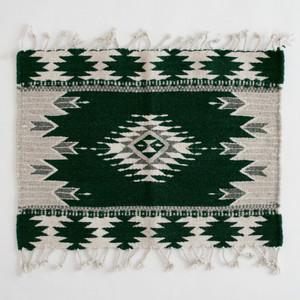 玄関マットサイズラグ(タペテ) / Green /238/ MEXICO メキシコ