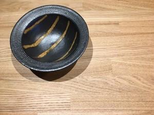 《作家名・江口香澄》 黒・帽子小鉢
