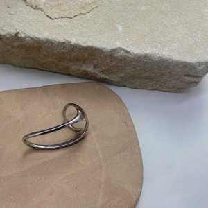 double ring/silver