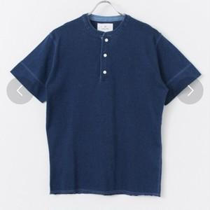 アーバンリサーチサニーレーベル インディゴヘンリーTシャツ 美品USED