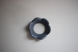 辻本路 箸置き 花冠 輪 (青)