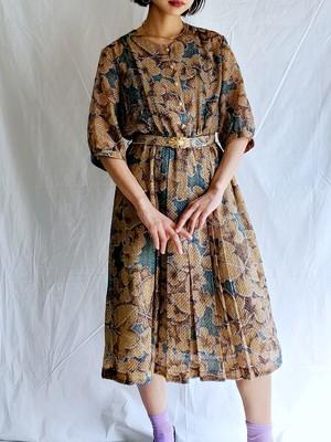 FLOWER LACE DRESS.