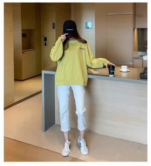 〈カフェシリーズ〉パン屋さんのルーズセーター②【bakery loose sweater】