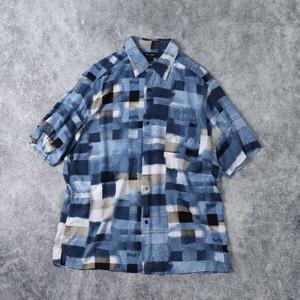 S/S   Designed   Rayon   Shirts   L A359