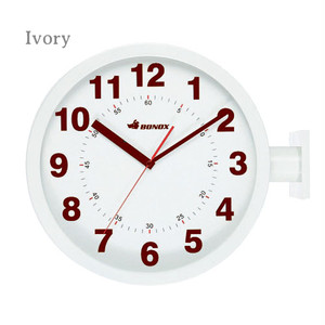 【S82429】Double face wall clock #時計 #モダン #ユニーク