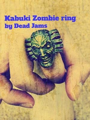 FZ09(Kabuki Zombie ring)