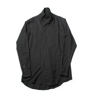 627SHM2-BLACK / ハイネックシャツ