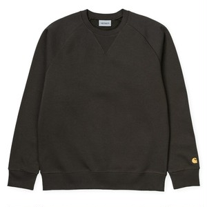 Carhartt (カーハート)Chase Sweatshirt Cypress/Gold