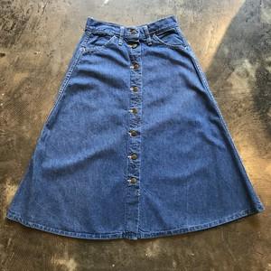 70's  Lee denim skirt デニム スカート