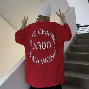 【トップス】シンプル半袖ラウンドネックプルオーバーTシャツ42834632