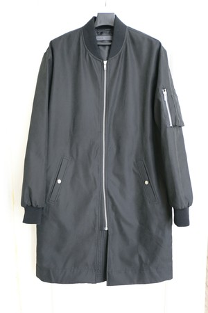 【MEN】MA-1 Black Coat