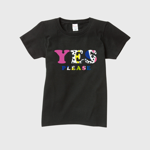 LADYS T-SHIRTS「YES PLEASE」