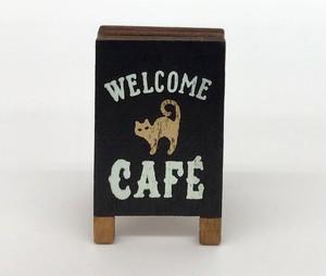 コンコンブル   カフェ看板