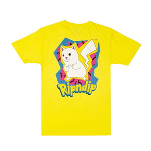 RIPNDIP - Catch Em All Tee (Yellow)